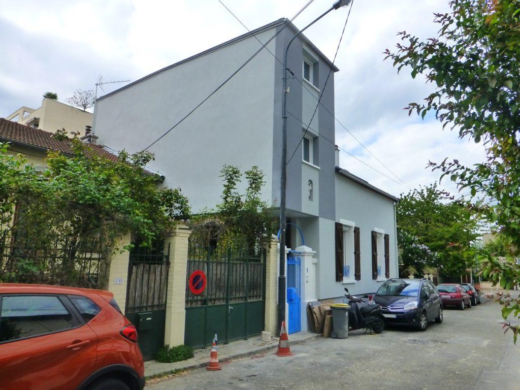 Extension sur pilotis une maison par tb home