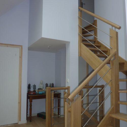 Photo de l'escalier intérieur réalisé par TB Home
