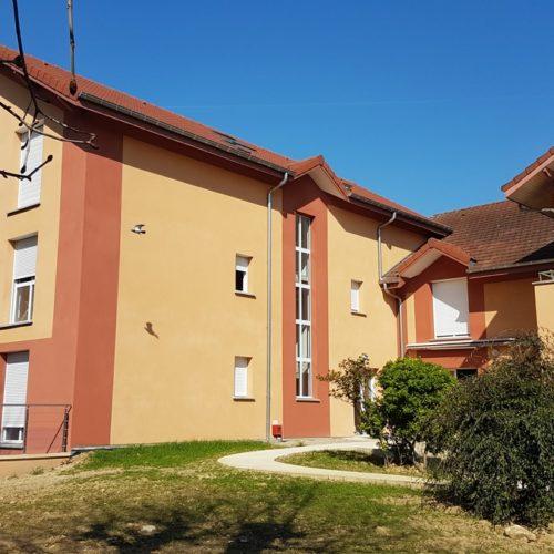 Photo de l'extension réalisée pour les logements associatifs