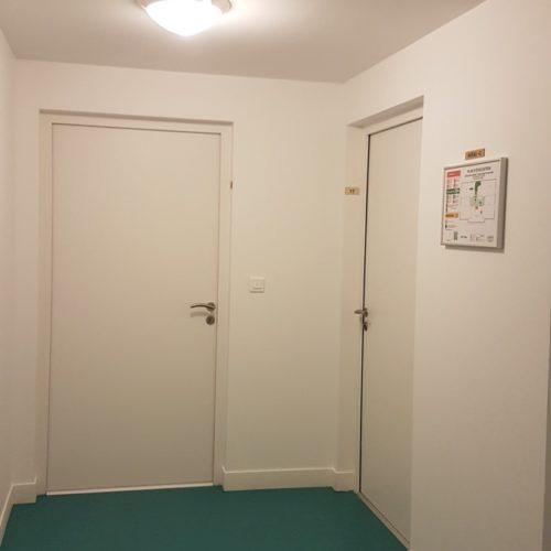 Photo intérieure des logements créés pour l'association