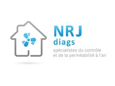 Image couleur du logo de la société partenaire NRJ Diags