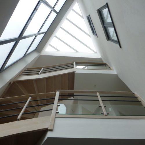 Photo de l'intérieur d'une maison d'architecte
